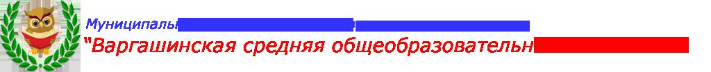 «Варгашинская средняя общеобразовательная школа №1»
