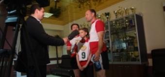 Семья Коростелевых  – победители областных соревнований «Мама+Папа+Я=Спортивная семья»