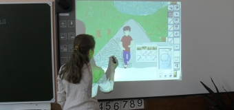 Конкурс рисунков на интерактивной доске