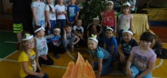 Открытие 2 смены летнего лагеря. Посвящение в индейцы.