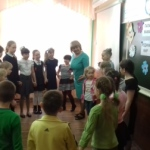 Галина Геннадьевна с детьми
