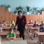 Елена Петровна с детьми