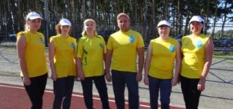 Спортивная команда школы по сдаче норм ГТО