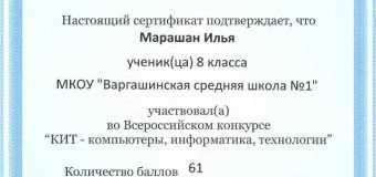 """Результаты конкурса """"КИТ-2017″"""
