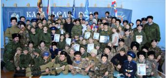 Рождественские военно-патриотические  казачьи сборы