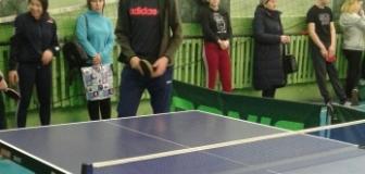 Турнир по настольному теннису в зачет Спартакиады обучающихся