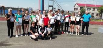 18.05.21 года прошли соревнования по лёгкой атлетике среди обучающихся Варгашинского района